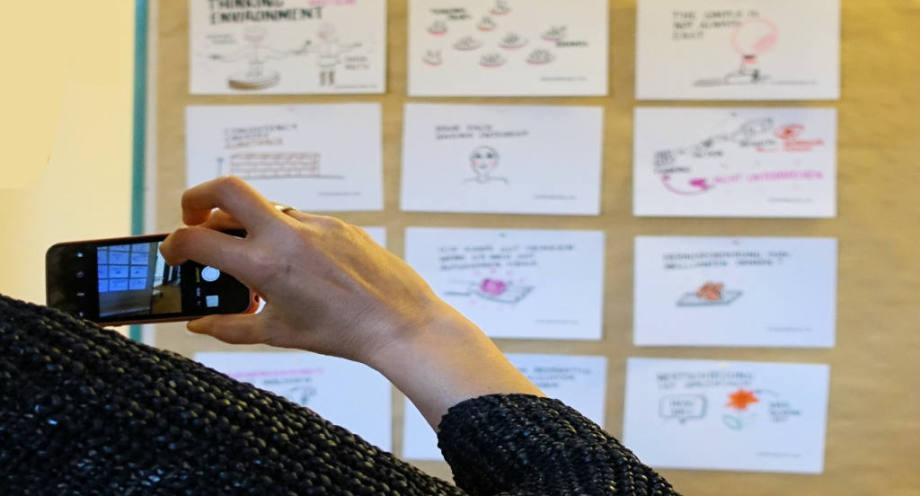 Kunden Erfahrungen Graphic Recording Hartmann-Wall